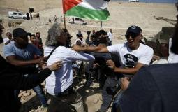 اسرائيل تعتدي على نشطاء سلام اوروبيين