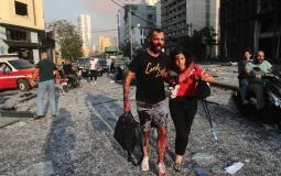 مرفأ #بيروت جراء الانفجار الضخـم (10)