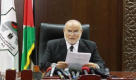 د. احمد بحر رئيس المجلس التشريعي الفلسطيني بالانابة