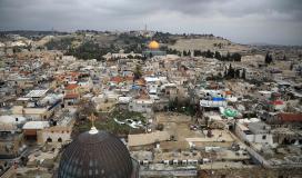 مشاهد رائعة من شوارع القدس القديمة