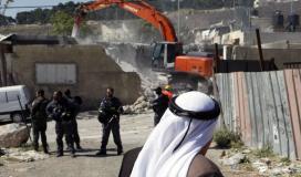 قوات الاحتلال تهدم منزلاً في الضفة المحتلة (ارشيف)
