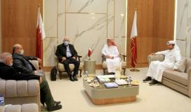 """تفاصيل استقبال السفير العمادي مع قيادة """"حماس"""" في غزة"""