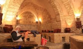 حمام السمرة في غزة معلم اثري ومقصد علاجي