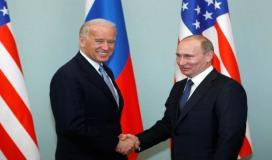 فلاديمير بوتين وجو بايدن