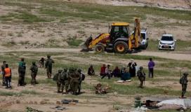 قوات الاحتلال تهدم مساكن فلسطينية في أريحا