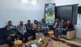 وفد حركة الجهاد الإسلامي خلال الزيارة