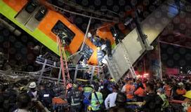 فيديو لحظة انهيار جسر في المكسيك تسبب بقتل واصابة العشرات.jpg