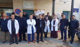 نيابة رام الله تستدعي مجلس نقابة الأطباء والأخير يقرر إخلاء المستشفيات
