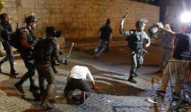 الاعتداء على المصلين في المسجد الاقصى.jpg