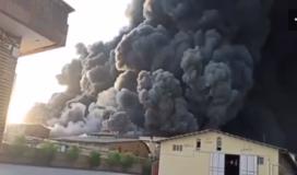 عشرات الوفيات والجرحى باندلاع حريق كبير في جنوب طهران