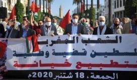 مغاربة ضد التطبيع.