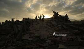 منازل المدمرة إثر القصف (27).JPG