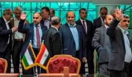 """وفد """"فتح"""" يغادر العاصمة المصرية القاهرة"""