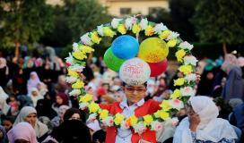 فرحة في قطاع غزة.jpg