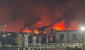 حريق العراق