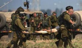 """تدهور حالة الجندي """"الإسرائيلي"""" الذي أصيب على حدود غزة"""