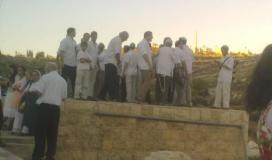 مستوطنون يقتحمون مدينة نابلس