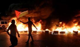 مواجهات  حاجز حوارة شرق نابلس، عقب مسيرة نصرة للأسرى (2).jpg
