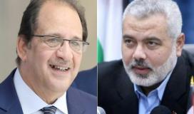 قيادة حماس تلتقي وزير المخابرات اللواء عباس كامل يالقاهرة