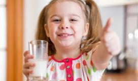 حليب الاطفال.