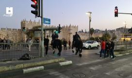 انتشار قوات الاحتلال بالقدس المحتلة.jpg