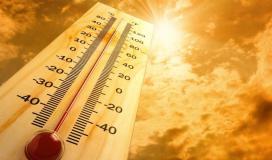 حالة الطقس ارتفاع درجات الحرارة
