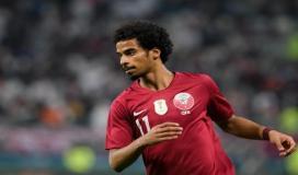 لاعب قطر اكرم عفيف