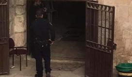 قوات الاحتلال تعتقل فتاة من المسجد الاقصى