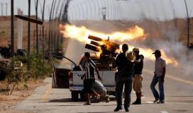 المعركة في ليبيا