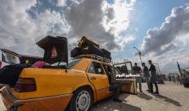 """آلية وكشف """"تنسيقات مصرية"""" للسفر عبر معبر رفح يوم الأحد (23 مايو)"""