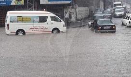 أمطار غزة3