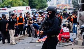 حريق في إندونيسيا
