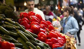 أسعار الخضراوات والفواكه واللحوم في الأسواق بغزة اليوم الجمعة الموافق 9-4-2021