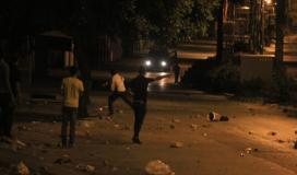 مواجهات بين الاحتلال والمواطنين في الضفة
