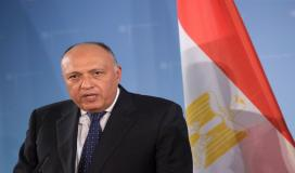 سامح شكري وزير الخارجية المصرية