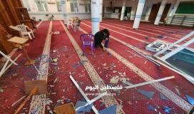 الأوقاف تستنكر استهداف الاحتلال لمسجد الودود في حي التفاح