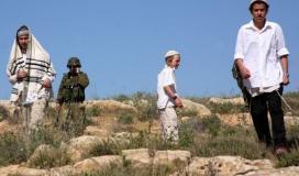"""إصابات إثر اعتداء مستوطنين """"إسرائيليين"""" جنوب محافظة الخليل"""