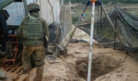 جيش الاحتلال أثناء تدمير أنفاق حزب الله (1)