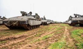 دبابات الاحتلال الجيش الاسرائيلي