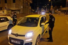 منع حركة المركبات بعد اذان المغرب في غزة