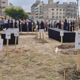 """بالصور:وقفة تضامنيةبعنوان   """" أسرى مقابر الأرقام """" المحتجزة لدي الكيان الصهيوني."""