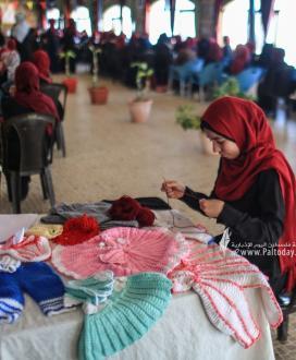 """بالصور:""""الجهاد الاسلامي"""" يبدأ اليوم الأول لمخيمات 'سبف القدس' للفتيات فى خانيونس جنوب القطاع"""