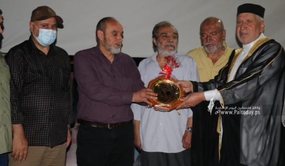 بالصور: جانب من حفل تأبين الشهيد عبد الله أبو العطا في الذكرى الثانية لاستشهاده