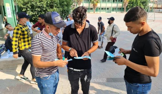انطلاق امتحانات الثانوية العامة 2021 في قطاع غزة