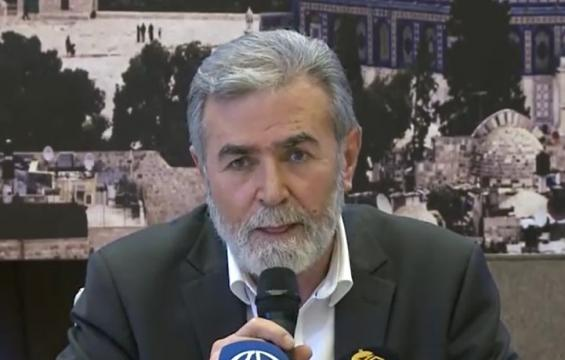 الأمين العام لحركة الجهاد الإسلامي القائد زياد النخالة