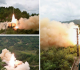 الصاروخ الباليستي الذي أطلقته كوريا الشمالية من قطار